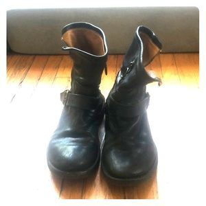 Fiorentini and Baker motorcycle boots